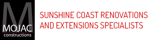 Renovations & Extensions Coolum Beach, Sunshine Coast | Mojac Constructions Logo